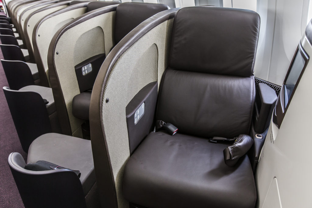 Virgin B787 Upper class review