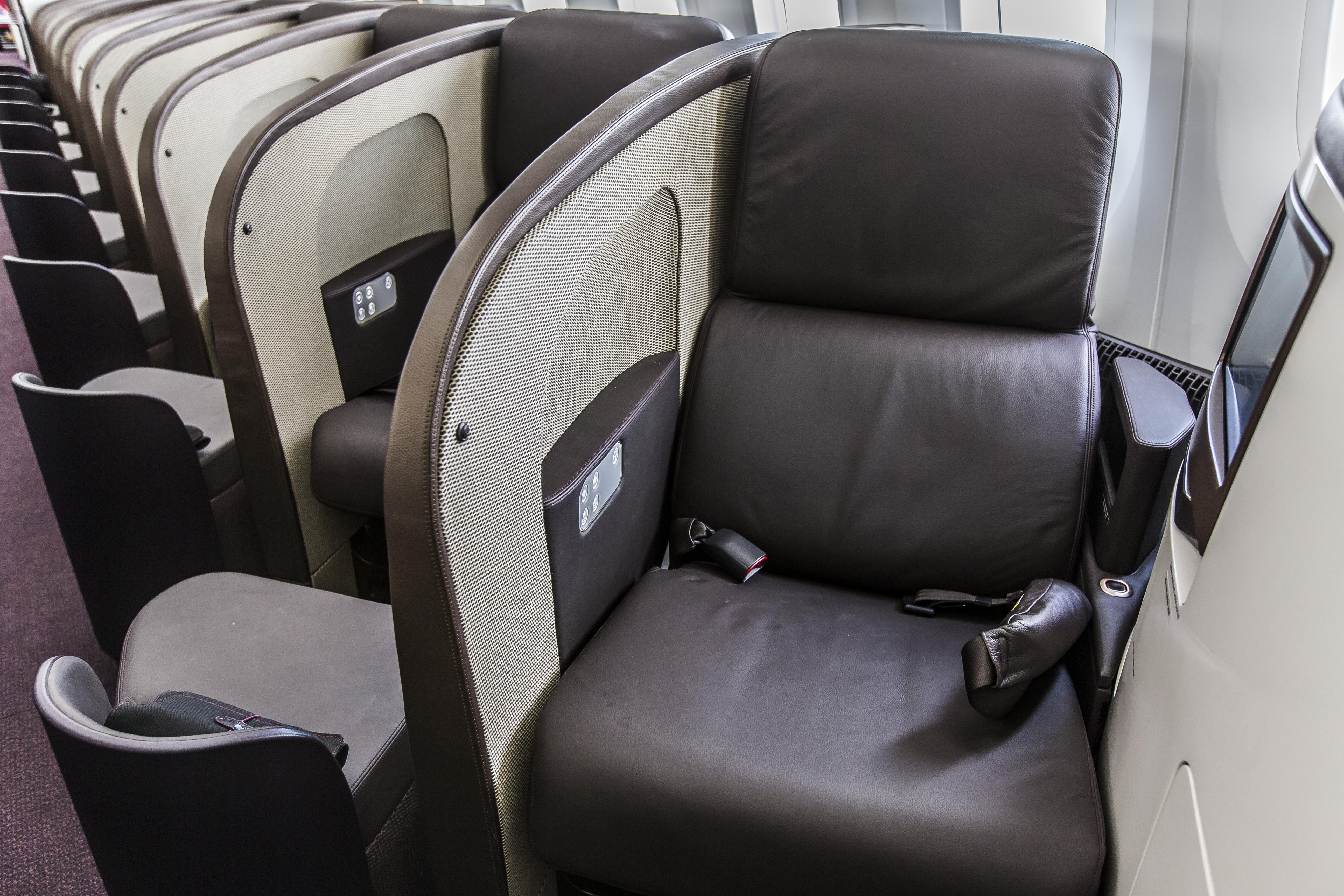 Virgin B787 Upper class review