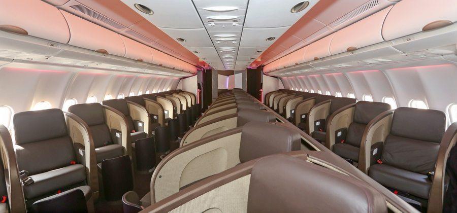 A330 Virgin new seats