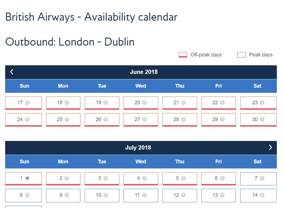 Top 5 tools to search for Avios availability - Turning left ...