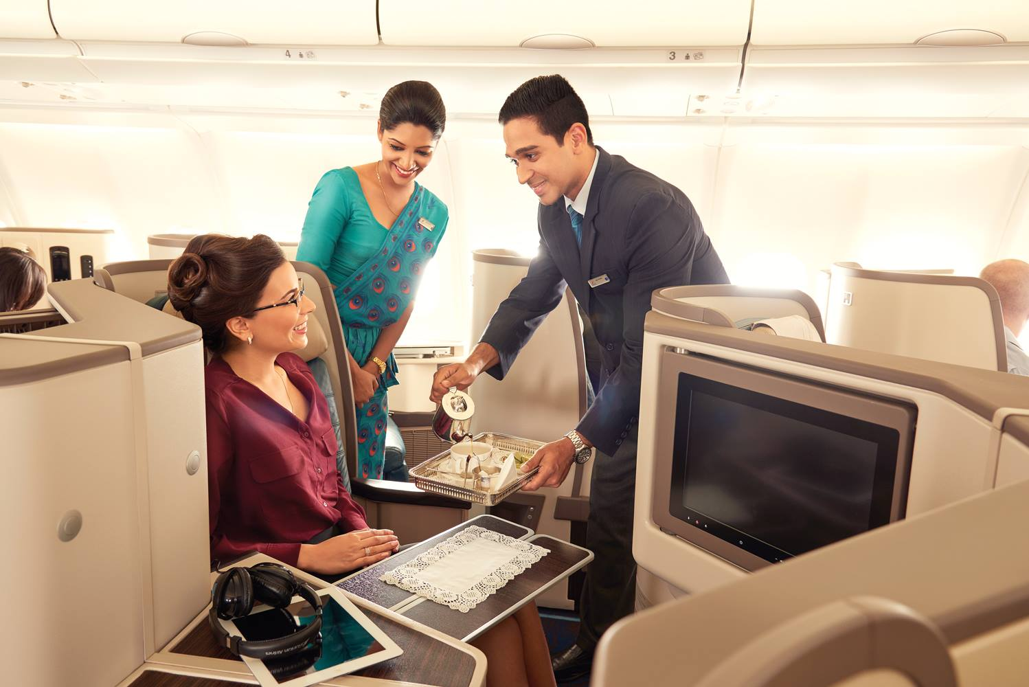 sri lankan A330-300 business class