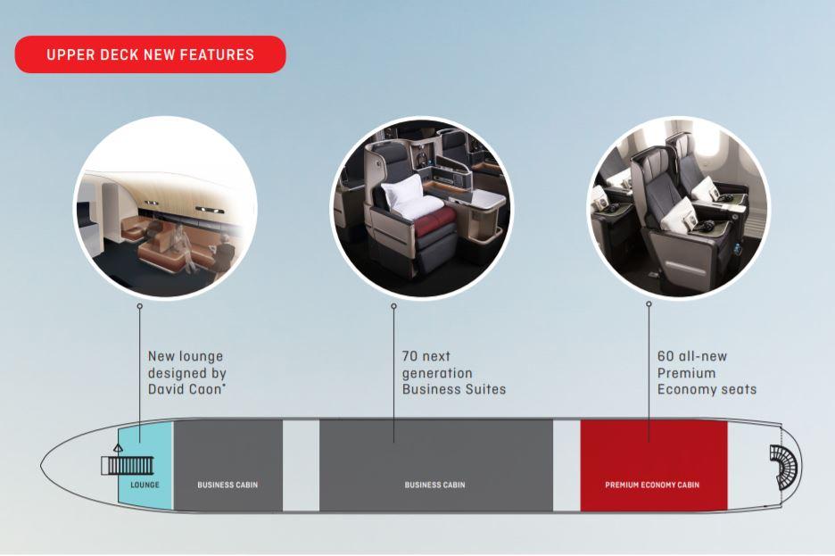 Qantas new A380 seats