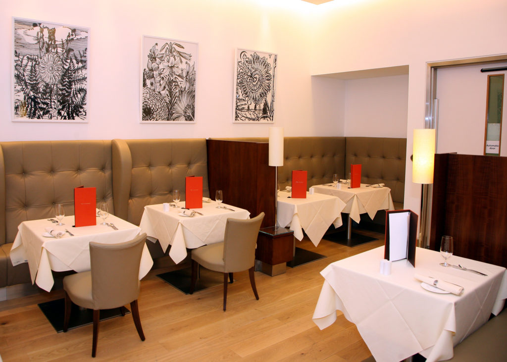BA Arrivals lounge Concorde Dining area