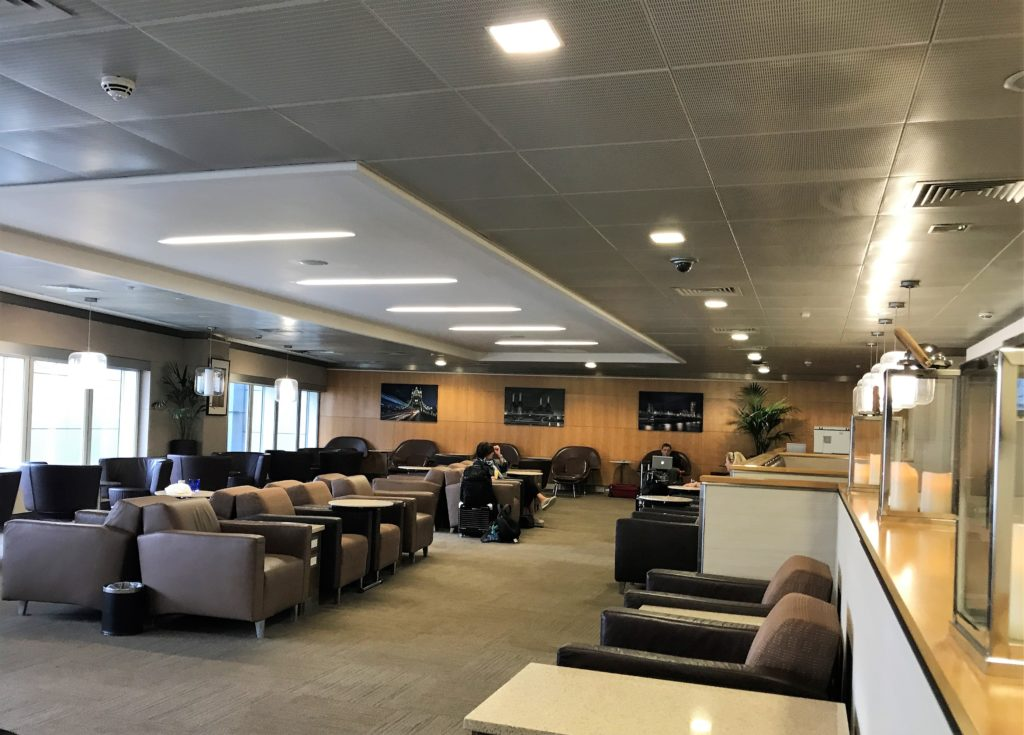 American Airlines Heathrow lounge T3
