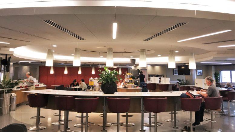 AA Heathrow T3 lounge review