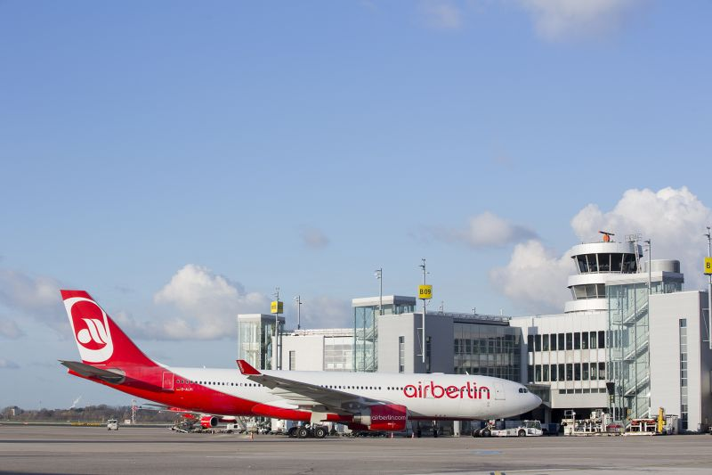 Air berlin stops long haul flights