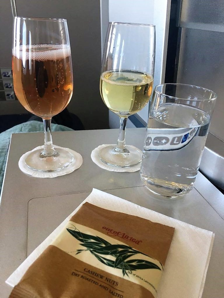 BA B747 upper deck club world review british airways