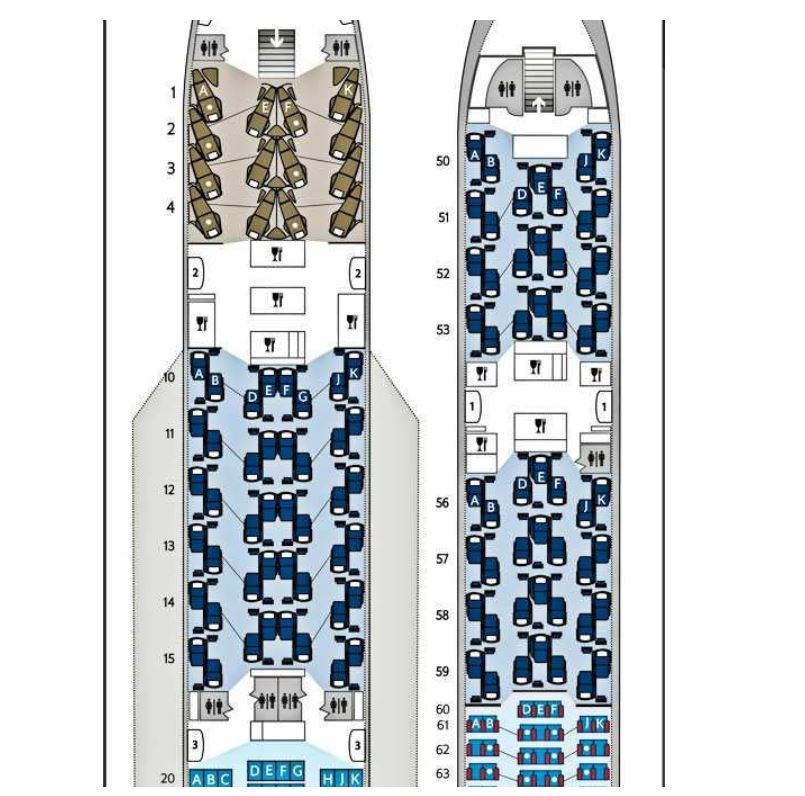 BA A380 Club World review upper deck