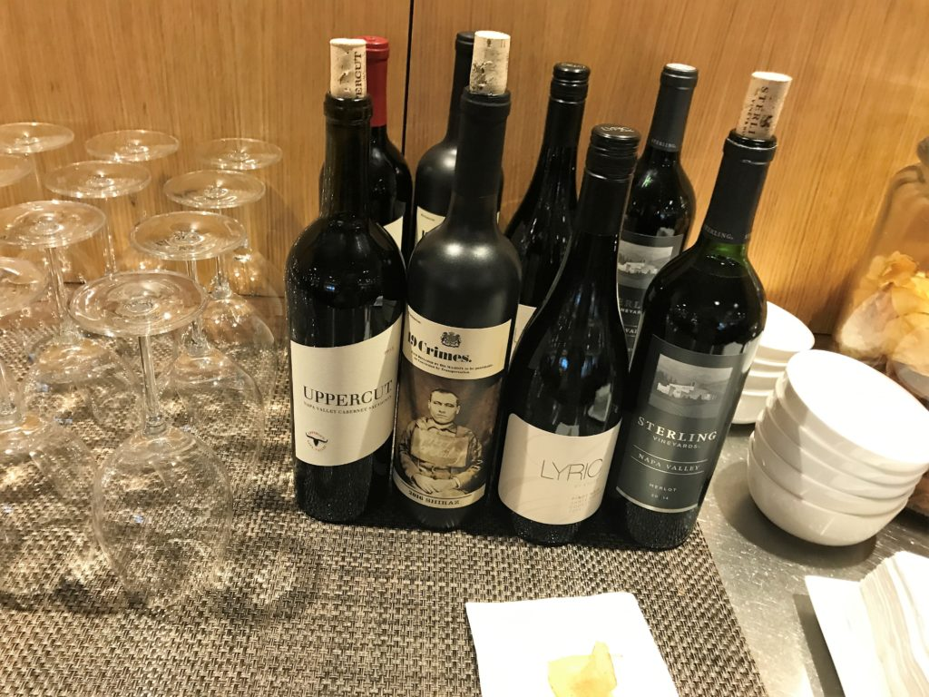 Qantas First lounge Los Angeles review