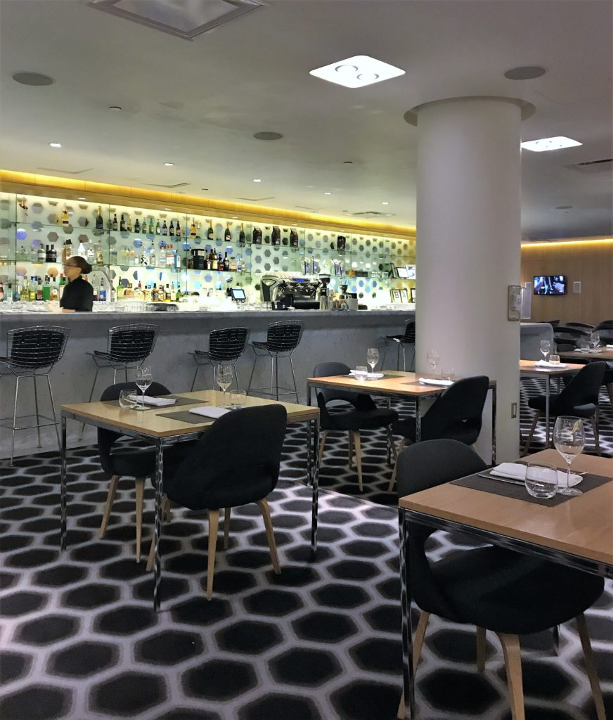 Qantas First class lounge los angeles review.