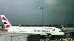 British Airways A380 Club World review upper deck