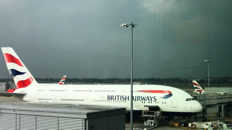 British Airways A380 Club World review upper deck