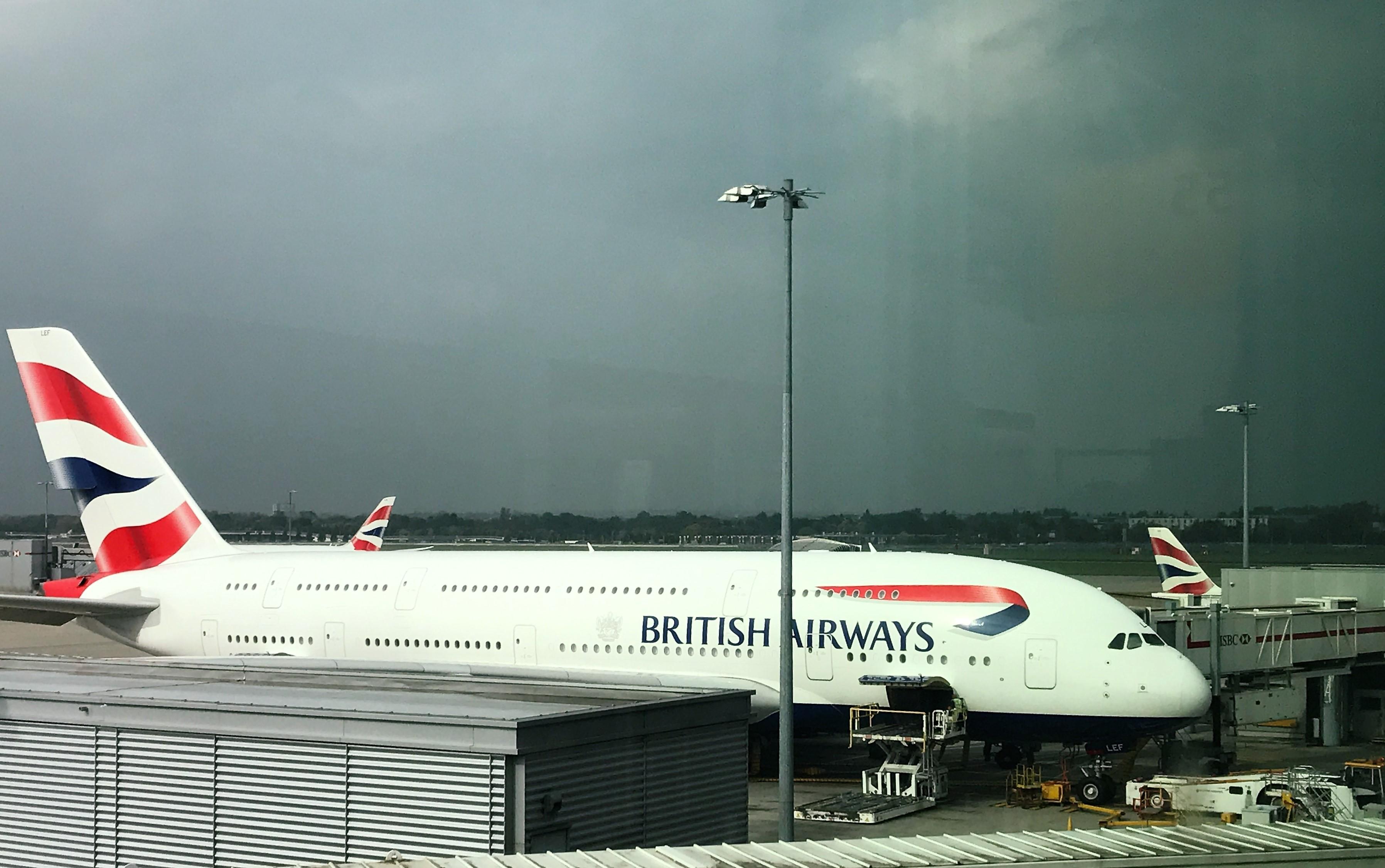hen british airways purchased - HD3592×2252