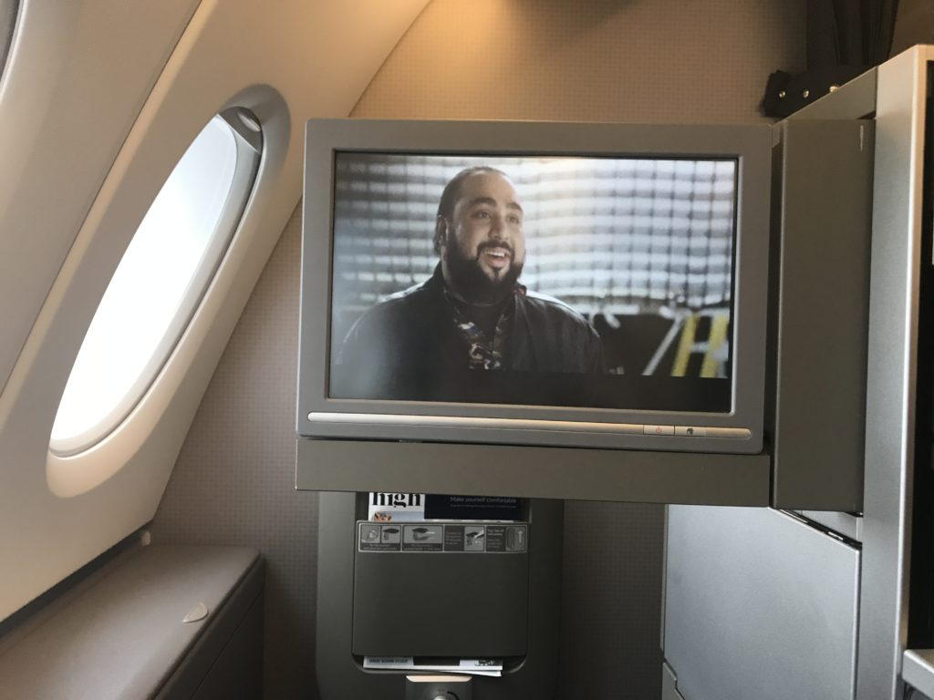 BA B747 Club World upper deck review