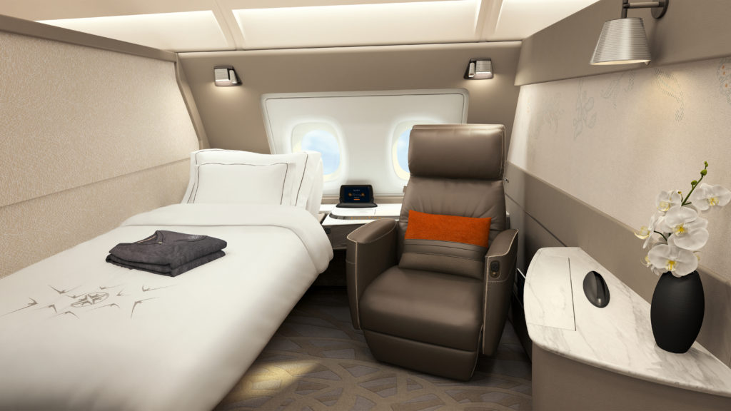 Singapore airlines new First class Suites A380