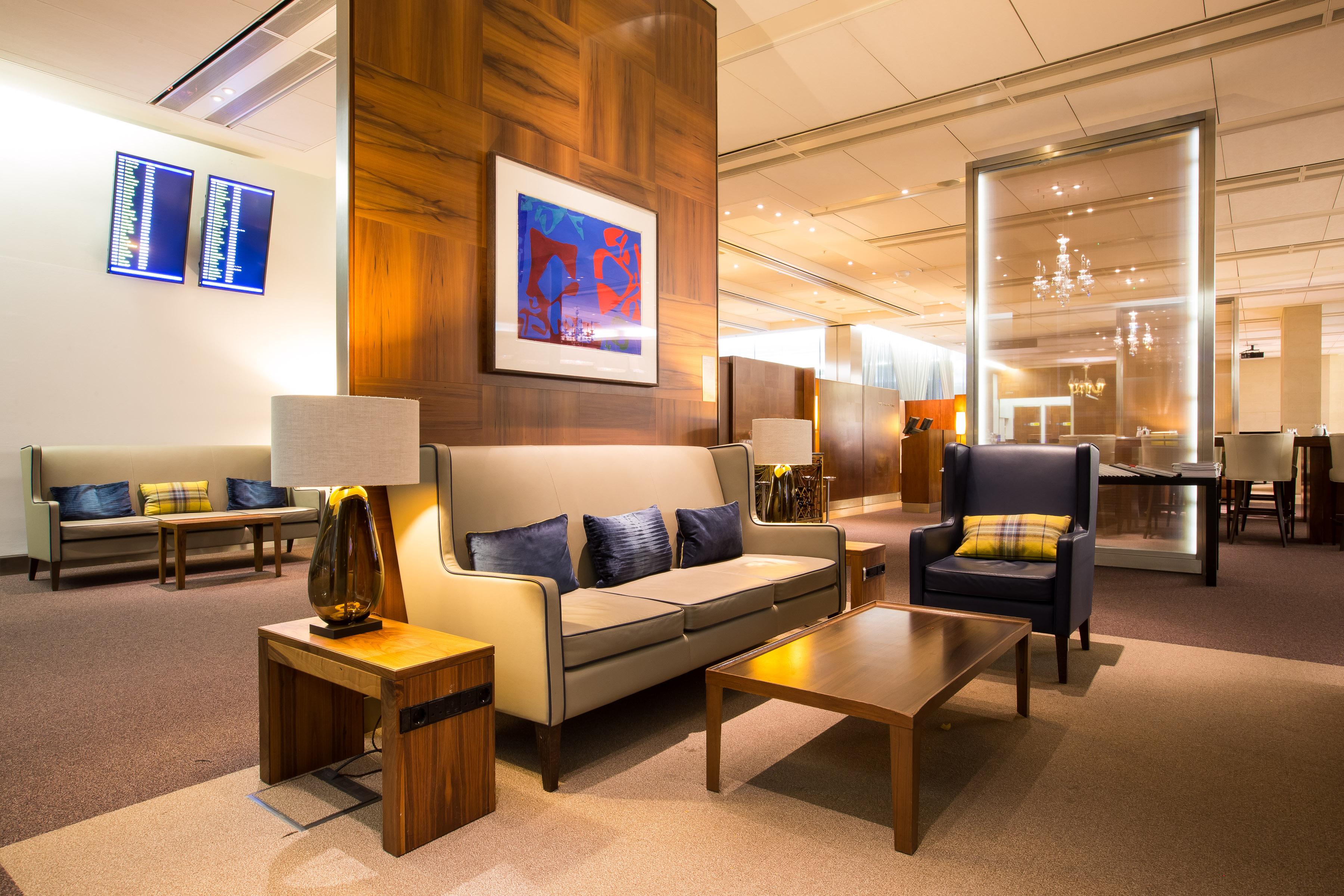 BA Concorde room lounge review T5 heathrow British Airways refurbished