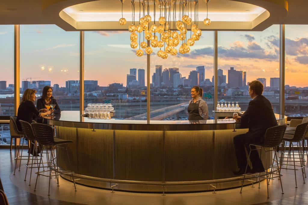 BA Boston lounge