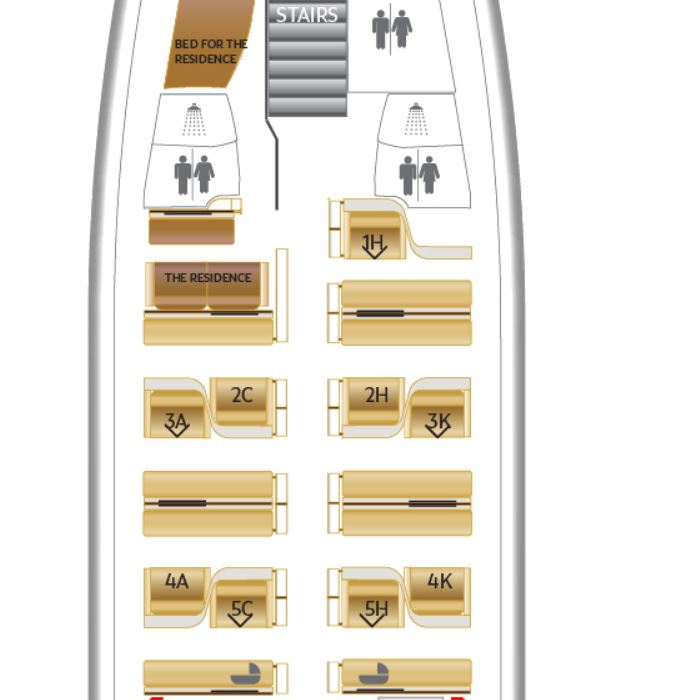 Etihad first apartment a380 review