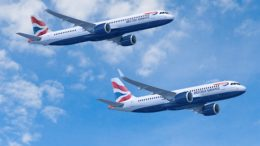 BA A320neo delivery date