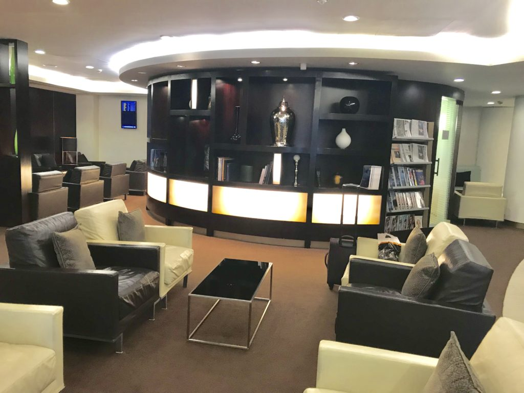 Etihad First and Business class Lounge London Heathrow Terminal 4 review