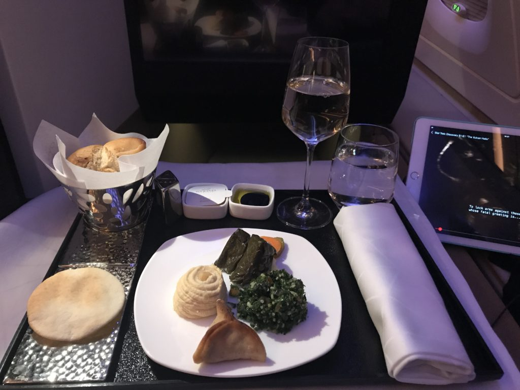 Etihad business class studio review A380