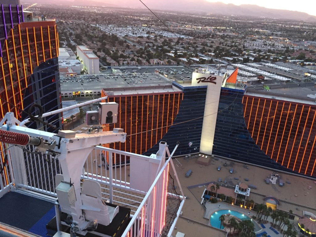 Rio Voodoo zip line 5 different things to do in Las Vegas
