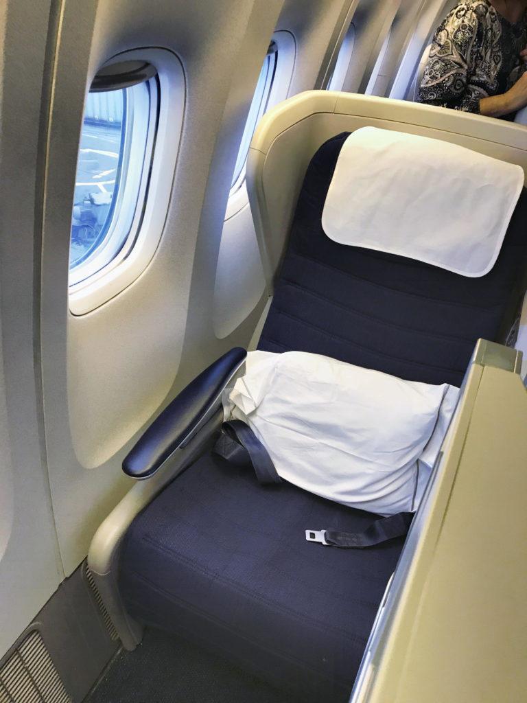 British Airways Club World B777 Mauritius Gatwick review