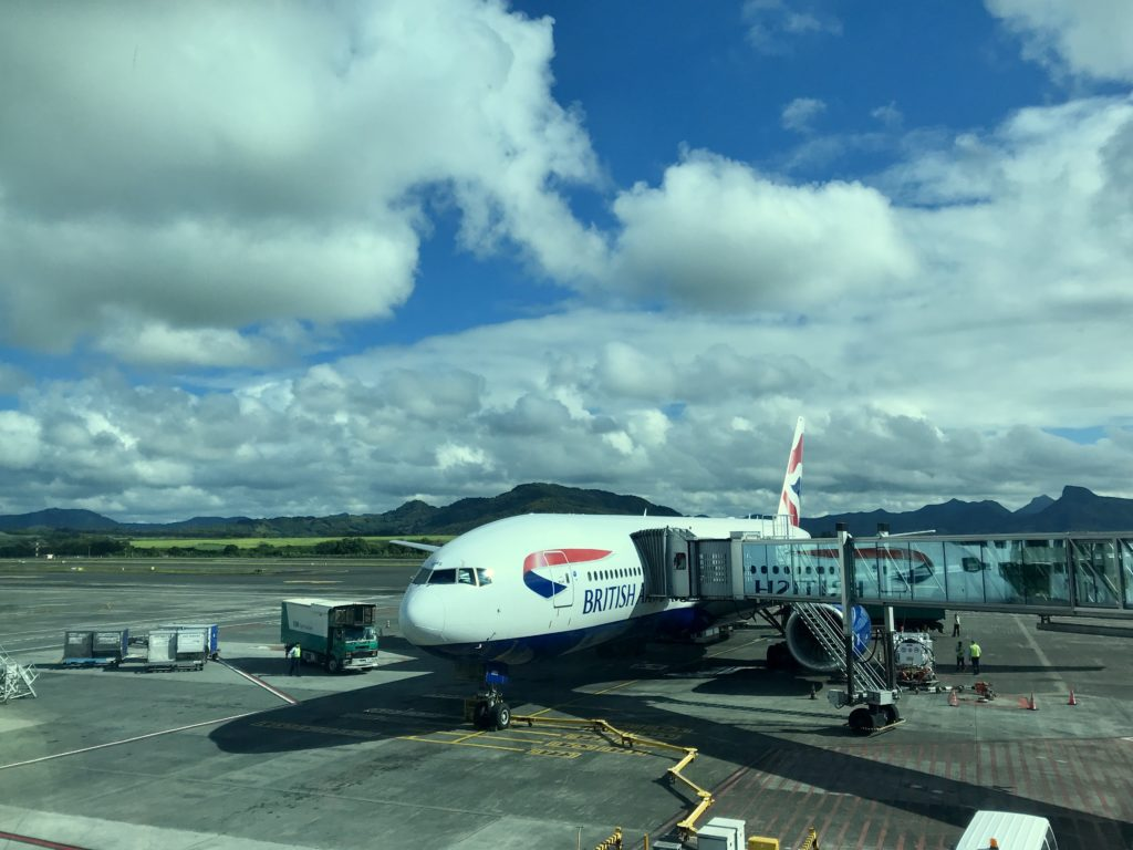 British Airways Club World B777 Mauritius Gatwick review