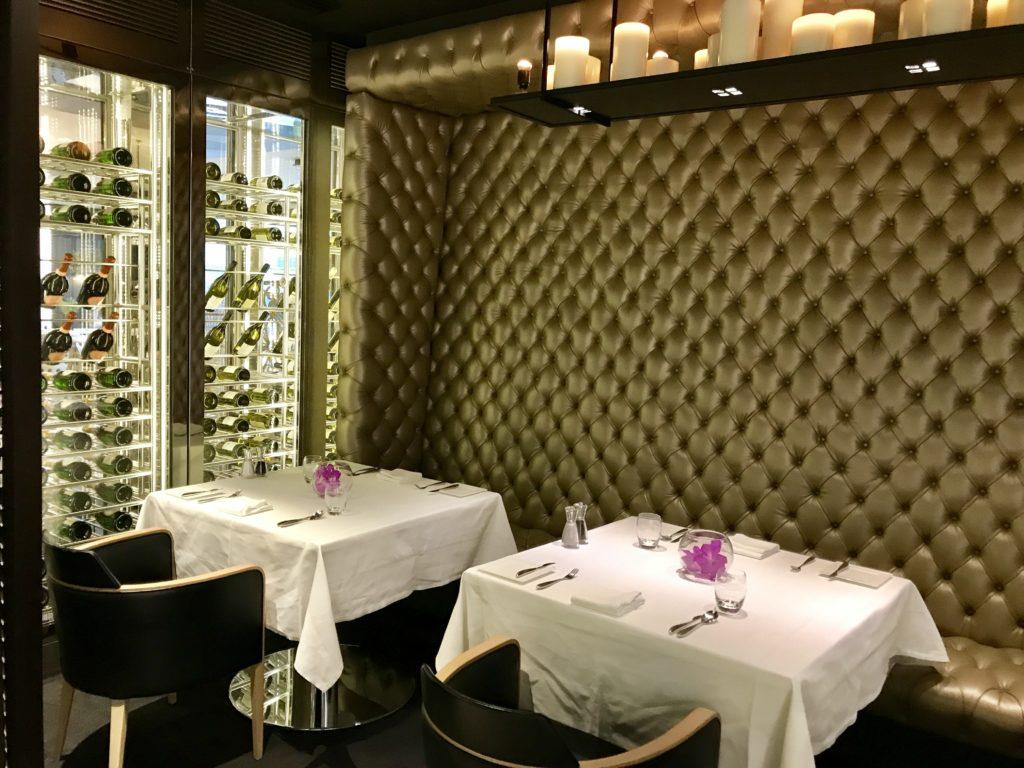 Qatar London Heathrow T4 Premium lounge business first class review