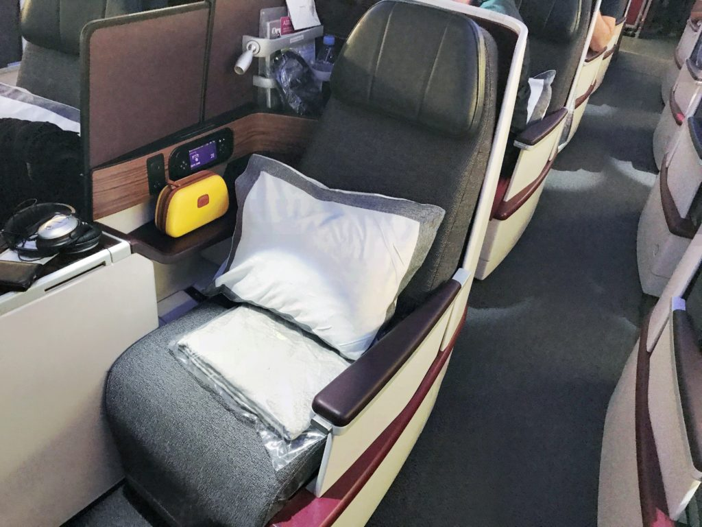 Qatar Airways A330 business class review