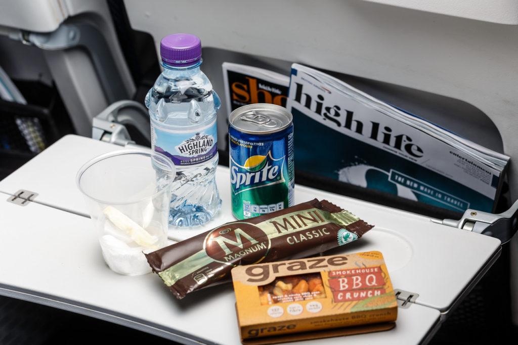 BA long haul economy meal changes food world traveller