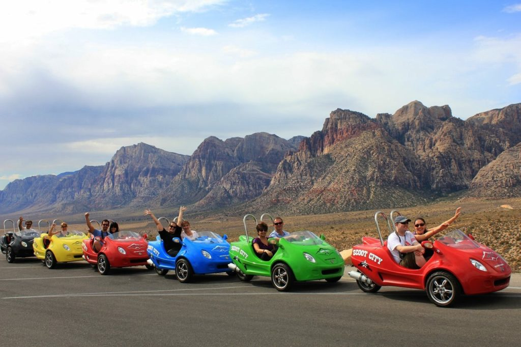 Scoot red rock tour 5 different things to do in Las Vegas