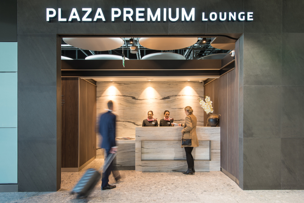 Plaza Premium lounge Heathrow Terminal 5