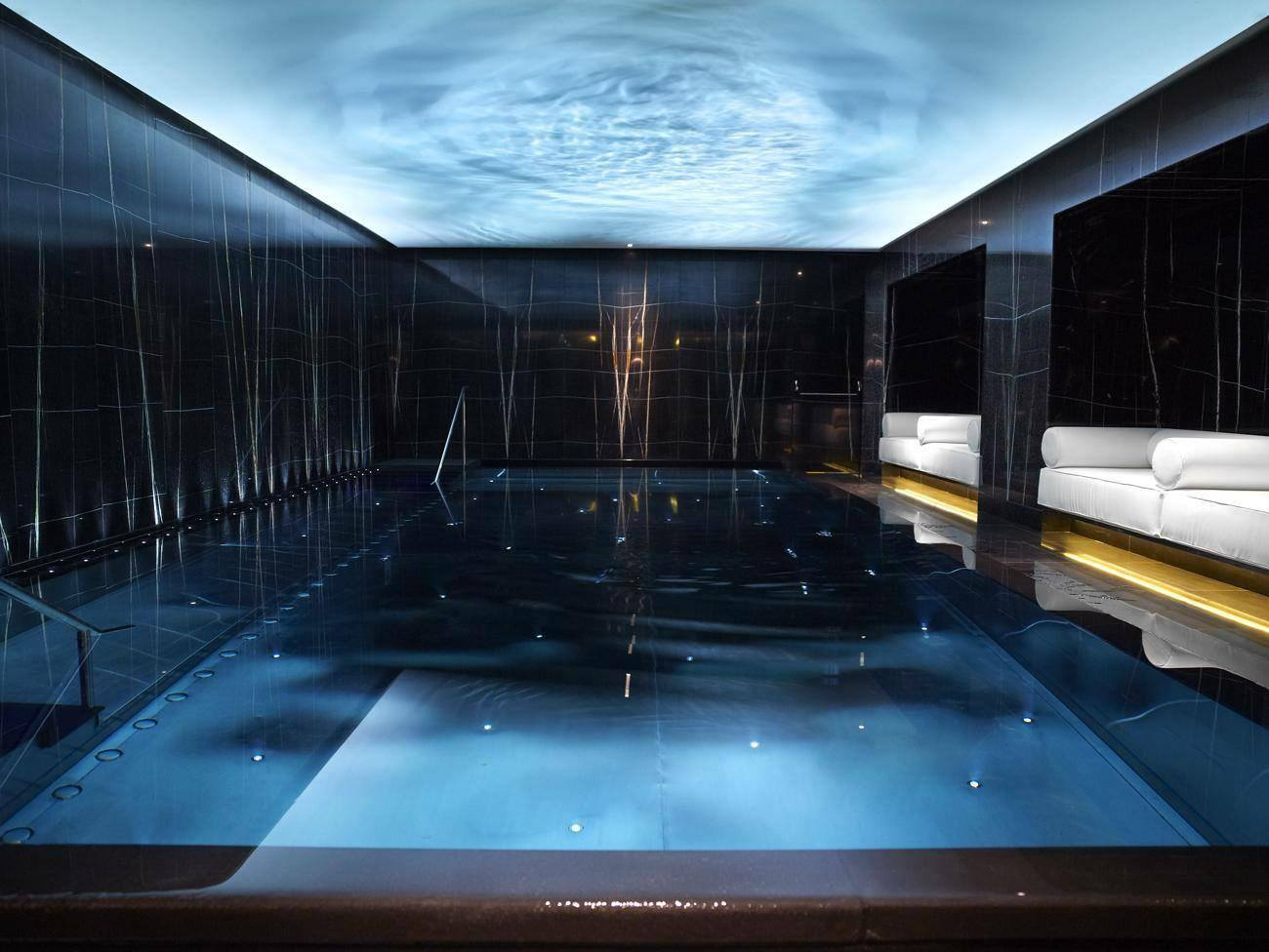 Corinthia Hotel London review swimming pool