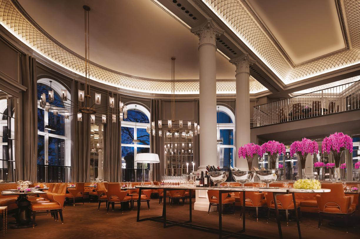 Corinthia Hotel London review Northall restaurant