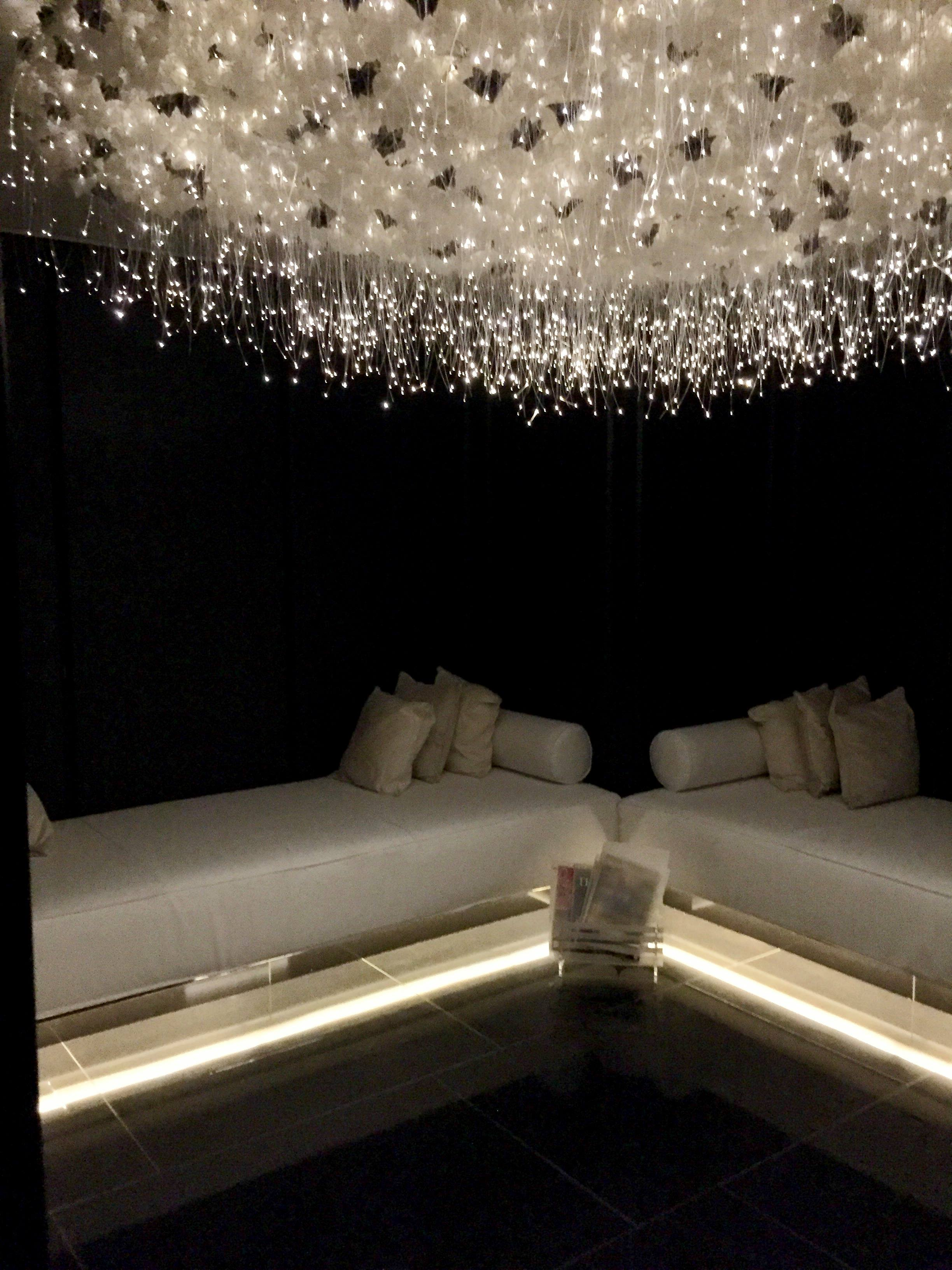 Corinthia Hotel London review ESPA spa lights