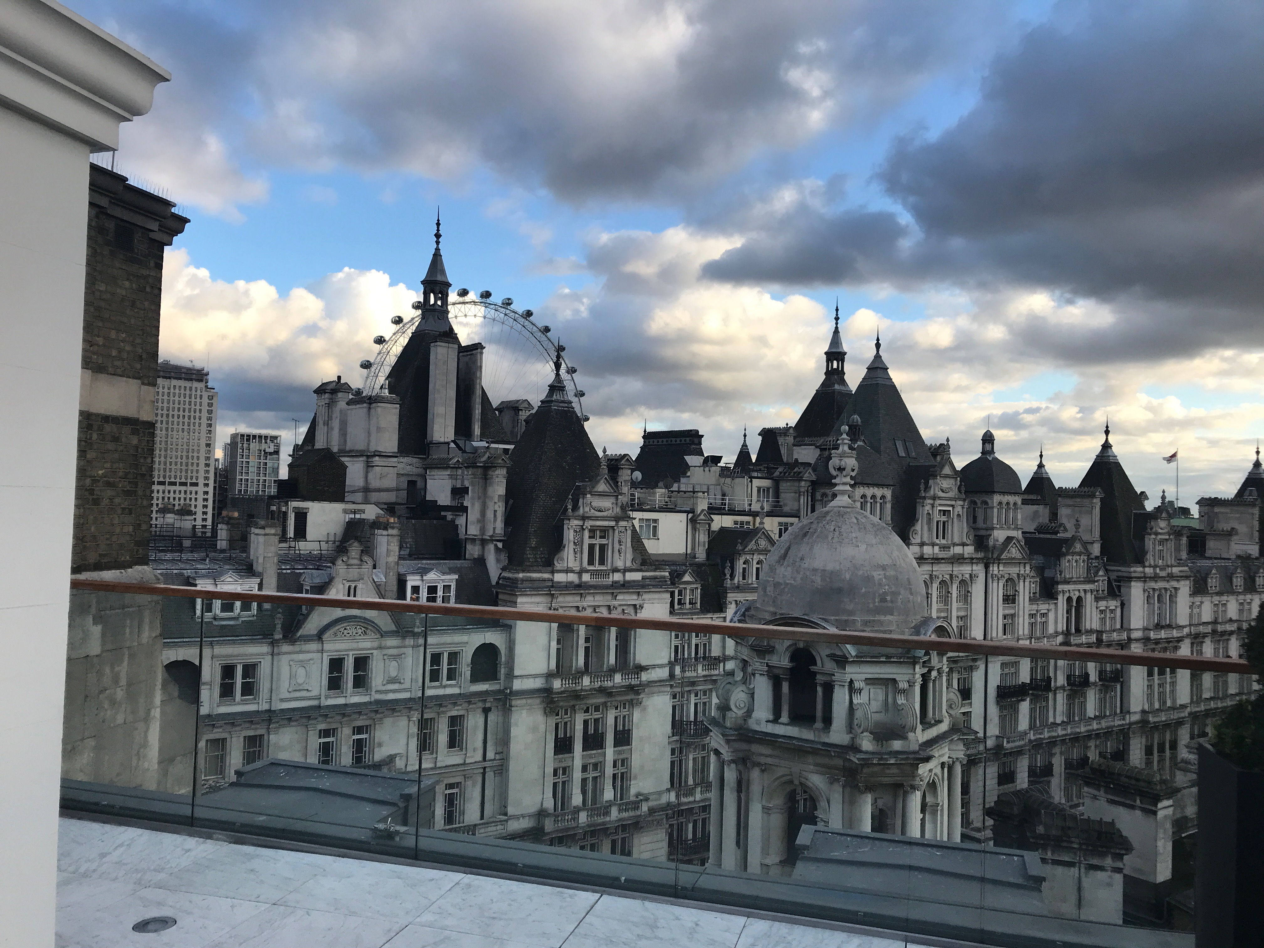 Corinthia Hotel London review suite terrace