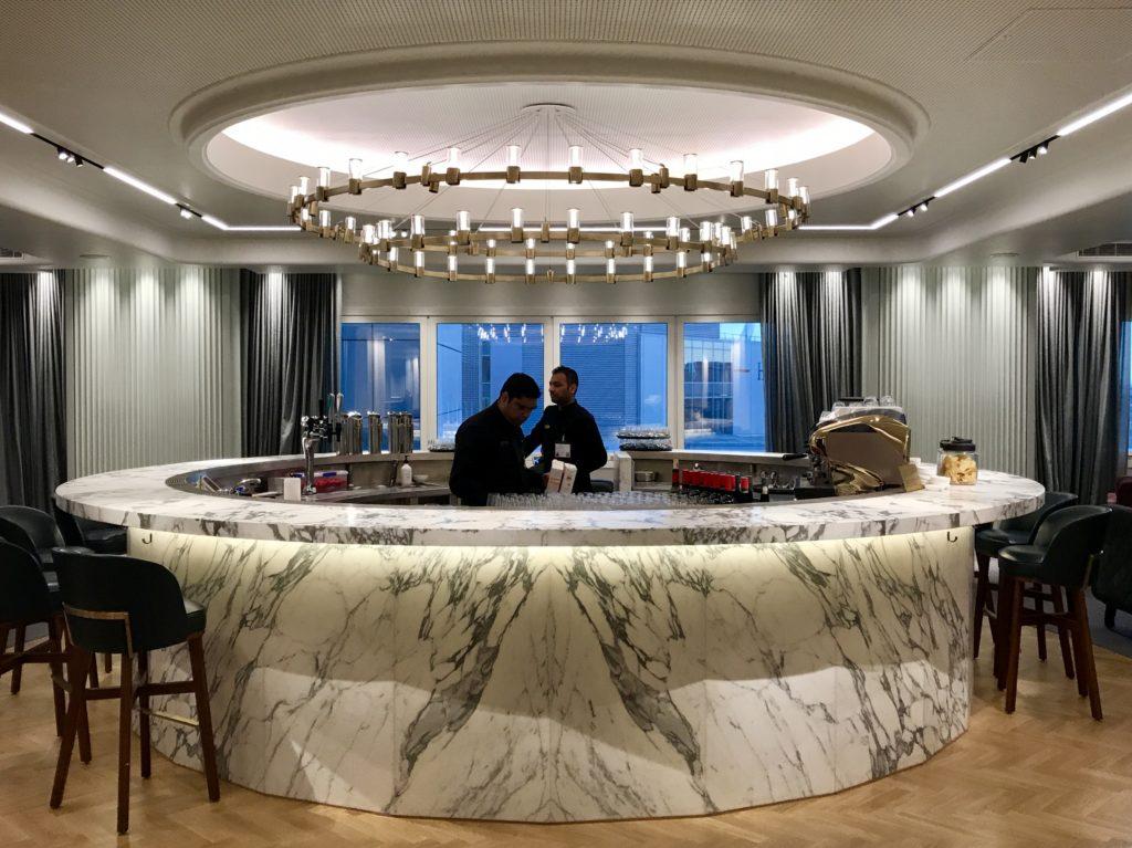 Qantas business & first class new lounge at Heathrow