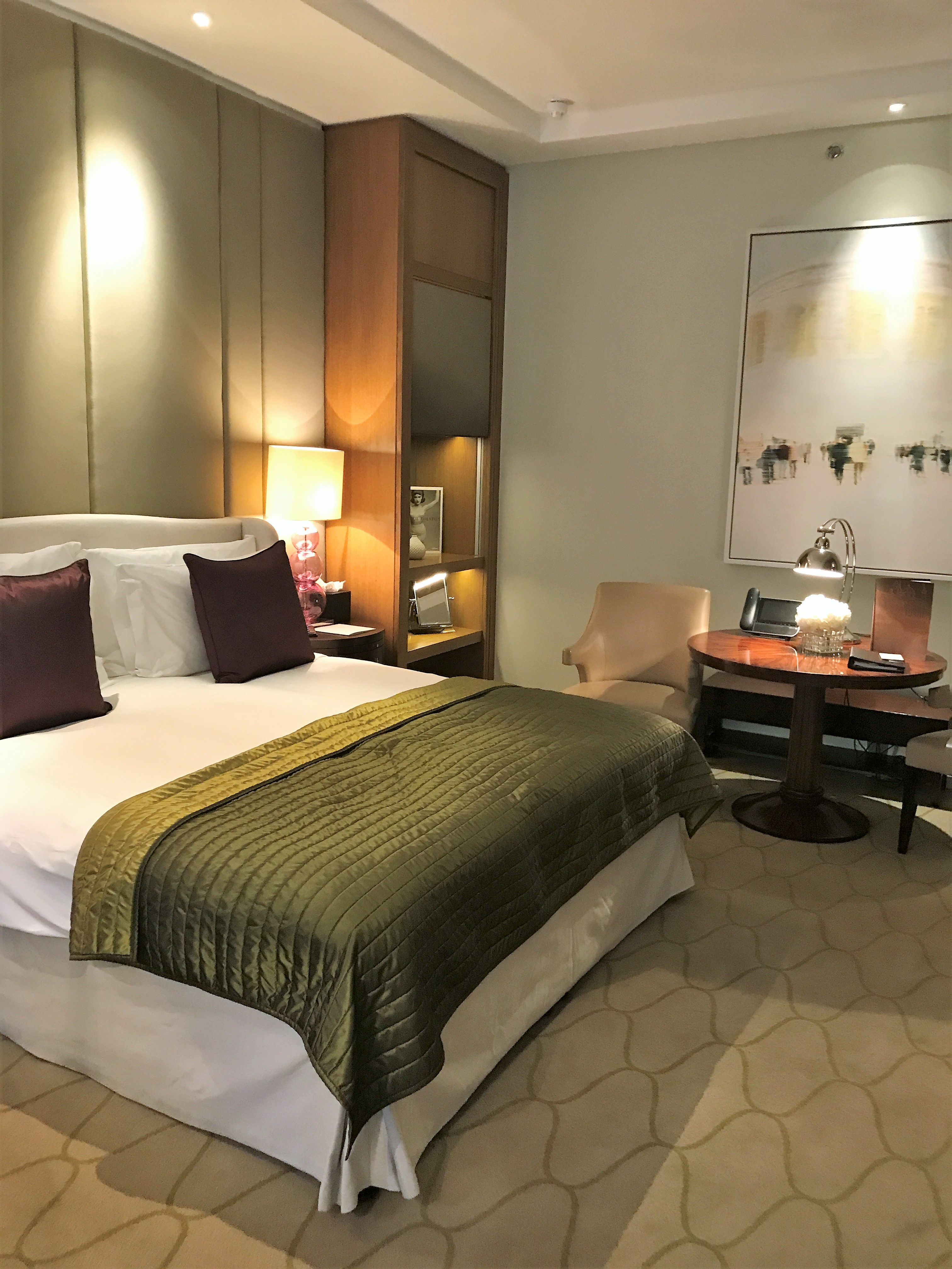 Corinthia Hotel London review bedroom