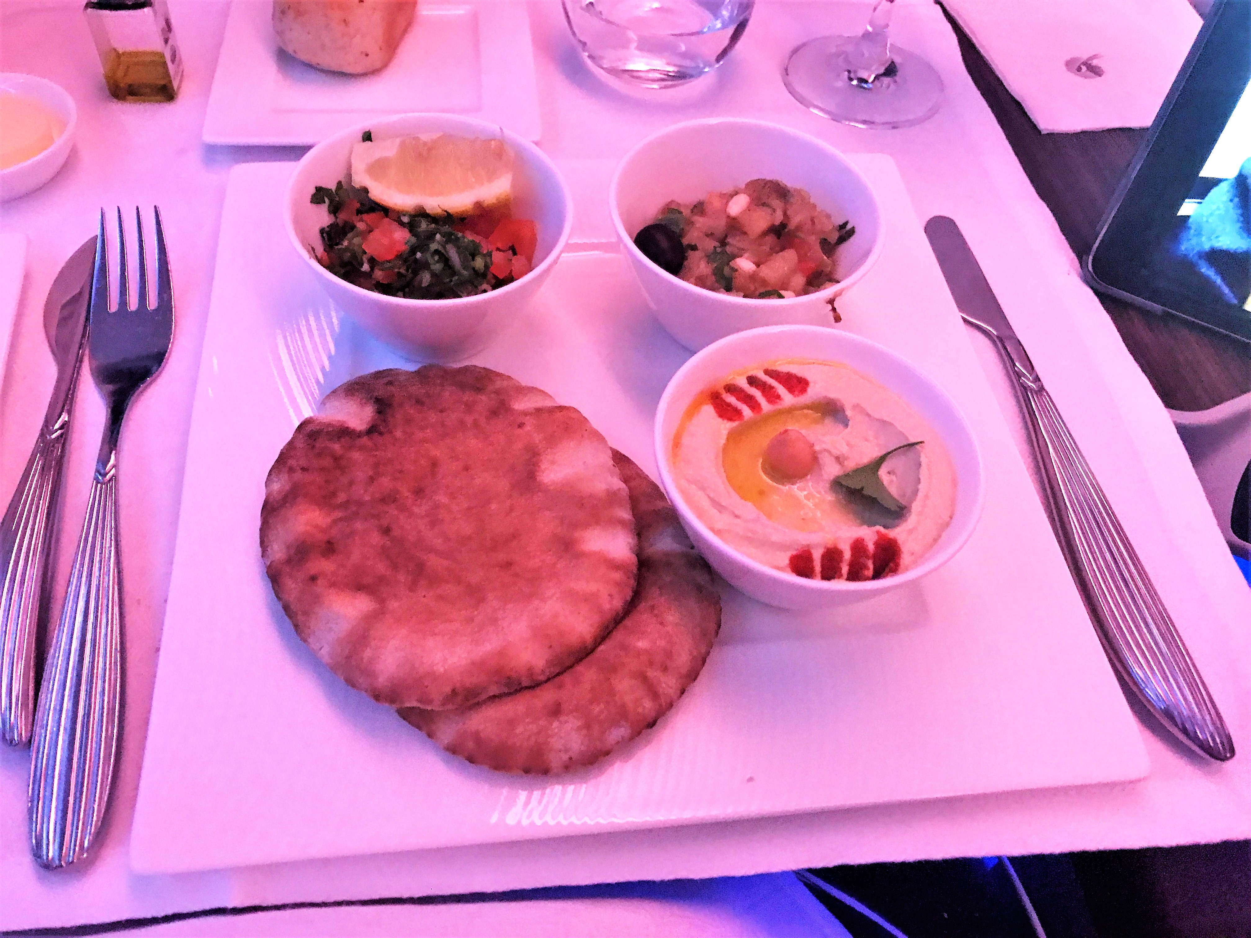 Qatar Airways A380 business class review