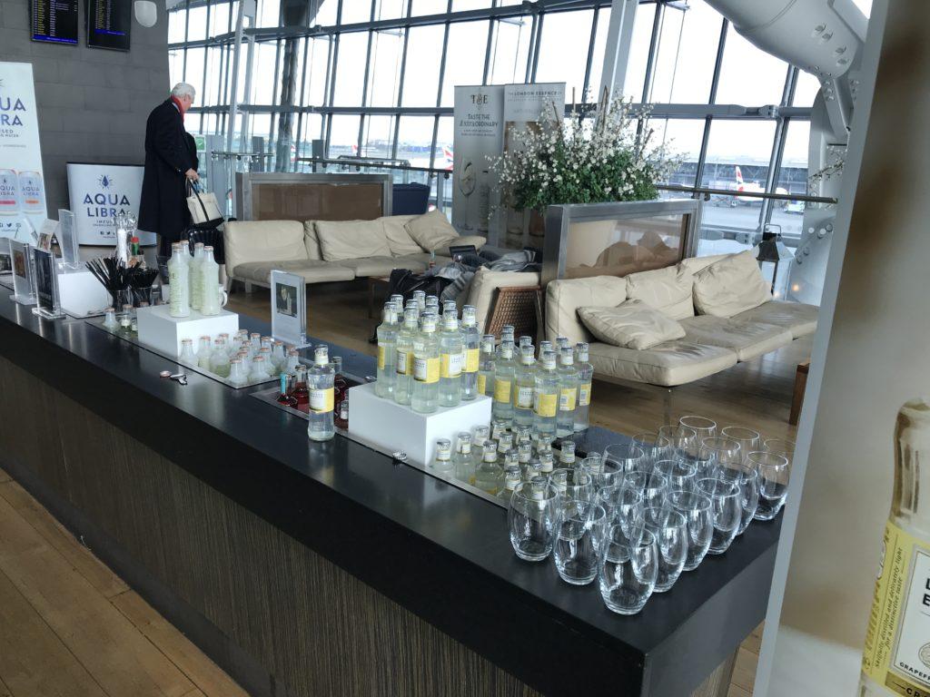 the Terrace, BA First lounge T5 Heathrow