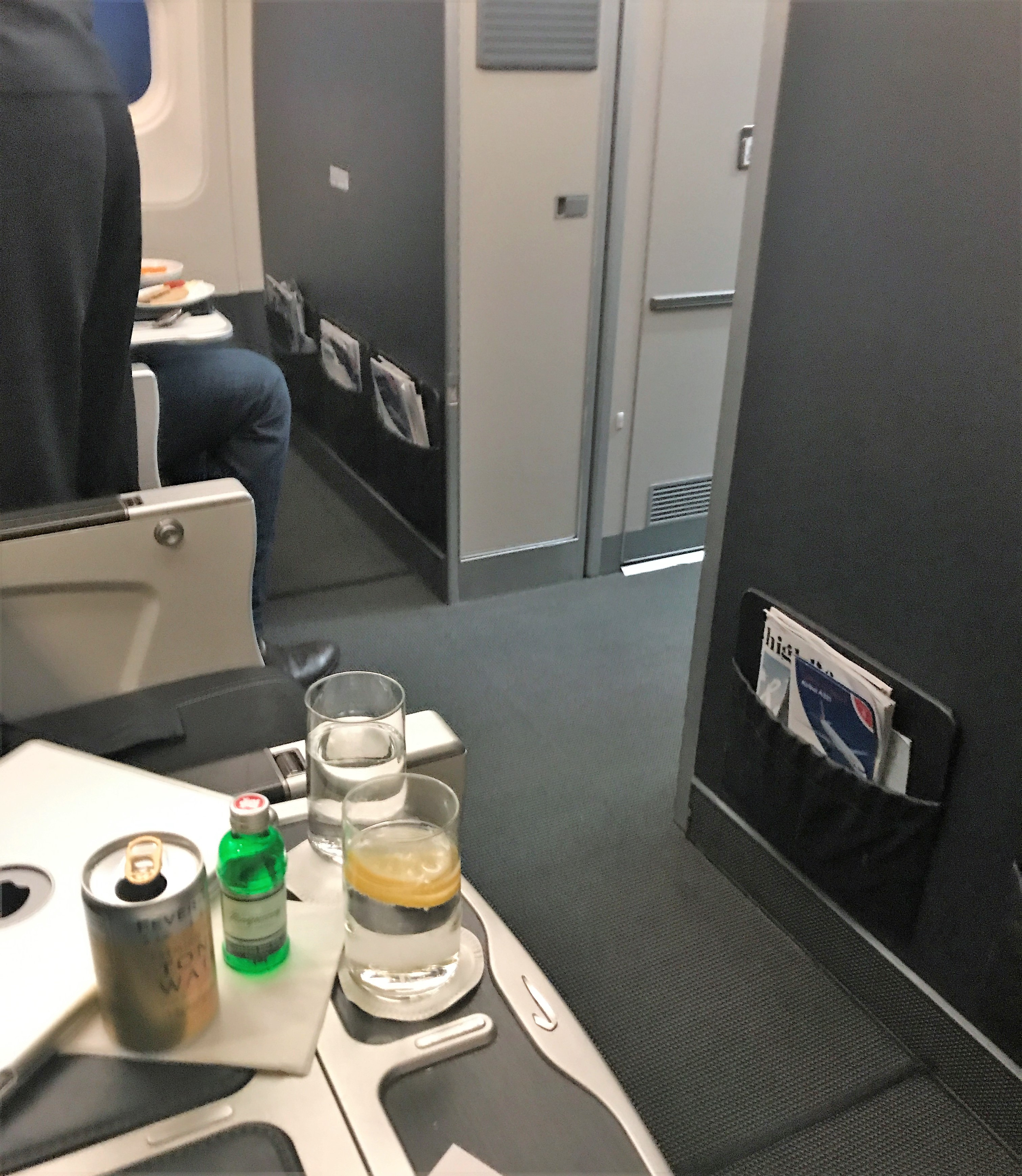 BA Club Europe review London Stockholm