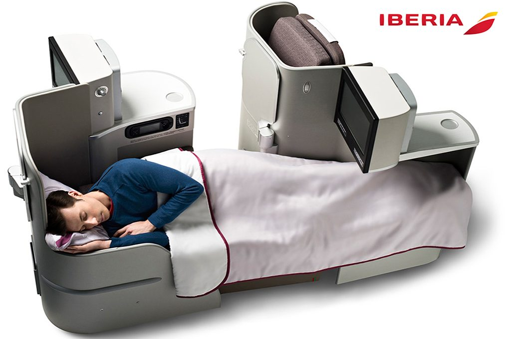 redeeming avios on Iberia existing business plus seats