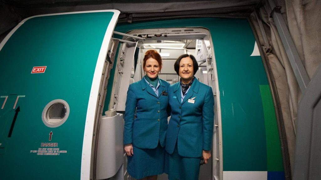 Aer Lingus current uniform