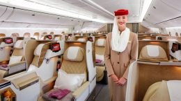 Emirates B777 business class