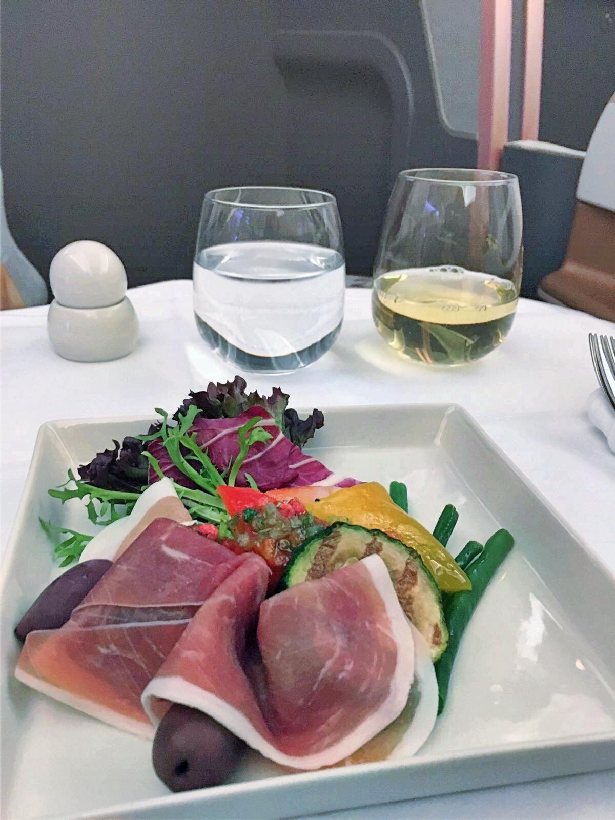 Singapore A350 business class review stockholm singapore