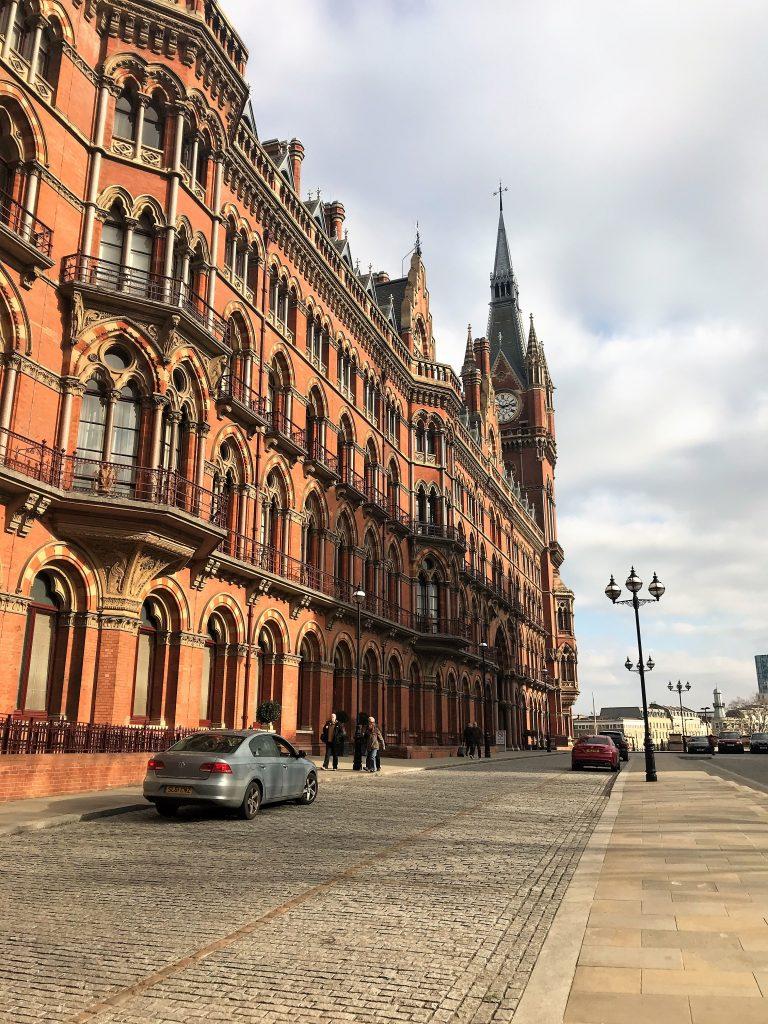 St Pancras Renaissance Hotel London review exterior