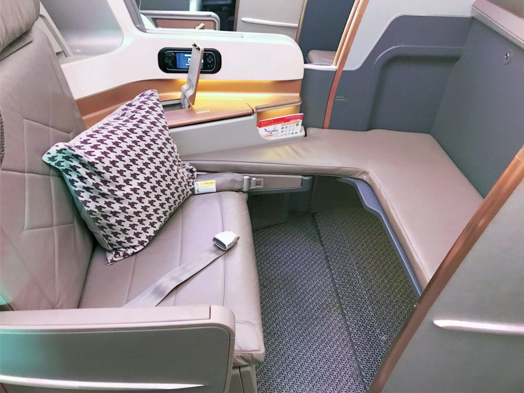Singapore airlines A350 business class review stockholm