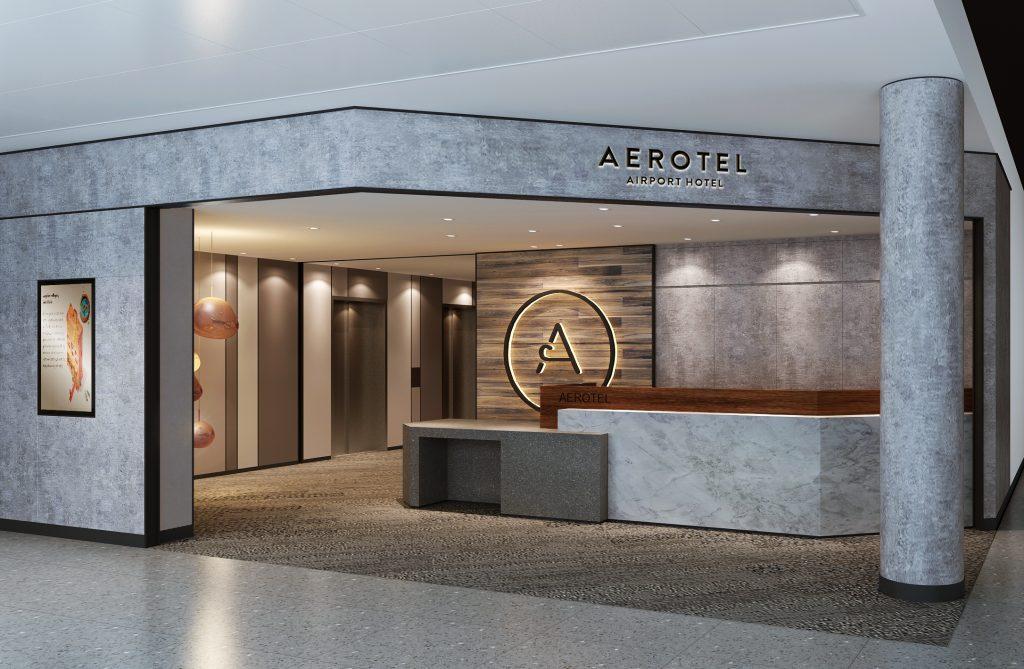 Aerotel Heathrow T2 Reception b