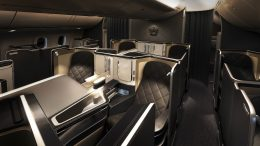 BA First Club Europe B787-900 review